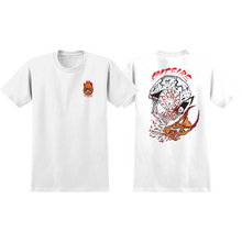 Spitfire - Neckface Broke Off Ss S-white - T-Shirt
