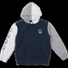 Spitfire - Bighead Blocked Hd/swt M-navy/wht/grey - Skateboard Sweatshirt