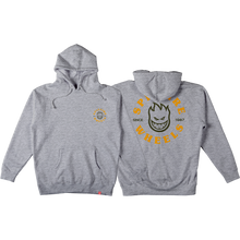 Spitfire - Bighead Classic Hd/swt L-heather Grey/gold - Skateboard Sweatshirt