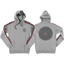 Spitfire - Classic Swirl Stripe Hd/swt S-heather Grey - Skateboard Sweatshirt