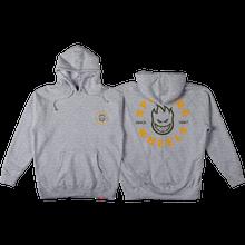 Spitfire - Bighead Classic Hd/swt S-heather Grey/gold - Skateboard Sweatshirt