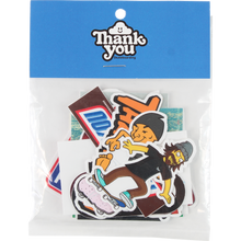 Thank You - You Mix 18/pack Assorted Decals