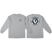 Thunder Trucks - Charged Grenade L/s Xl-silver/navy - T-Shirt