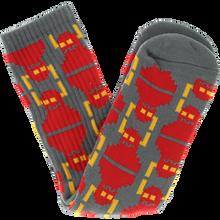 Toy Machine - Digi Monster Crew Socks Grey 1pr - Skateboard Socks