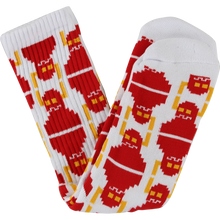 Toy Machine - Digi Monster Crew Socks White 1pr - Skateboard Socks
