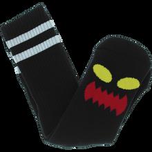 Toy Machine - Monster Face Crew Socks Black 1pr - Skateboard Socks