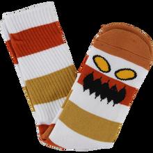 Toy Machine - Monster Big Stripe Crew Socks Brown 1pr - Skateboard Socks
