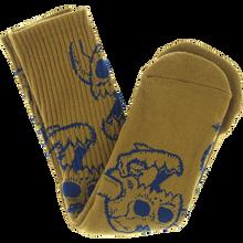 Toy Machine - Monster Skull Crew Socks Olive 1pr - Skateboard Socks