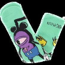 Toy Machine - Mousketeer Crew Socks Sky Blue 1pr - Skateboard Socks