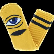 Toy Machine - Sect Eye Crew Socks Mustard 1pr - Skateboard Socks