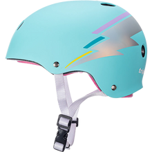 Triple Eight - Certified Sweatsaver L/xl-teal Hologram - Skateboard Helmet