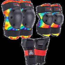 Triple Eight - 8 Saver 3/pk Pads Jr-tie Dye - Skateboard Pads