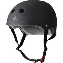 Triple Eight - Certified Sweatsaver Xl/xxl-black Rubber - Skateboard Helmet