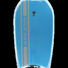 "Wave Action - Action Slick Bottom Bodyboard 33"" Blue"