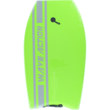 "Wave Action - Action Slick Bottom Bodyboard 33"" Green"