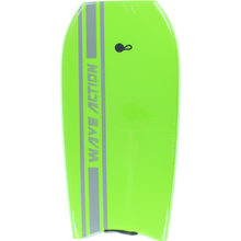 "Wave Action - Action Slick Bottom Bodyboard 41"" Green"