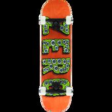 Zero - Evil Eyes Complete-7.75 Org/grn - Complete Skateboard