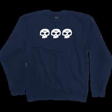 Zero - 1999 Crew/swt S-blue - Skateboard Sweatshirt