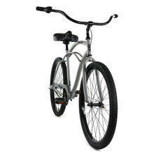 ZF Bikes - Classic Mens Beach Cruiser Bike - 3 speed - Grey