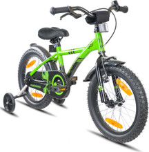 "Prometheus Kids BMX Bike - 16"" Green"