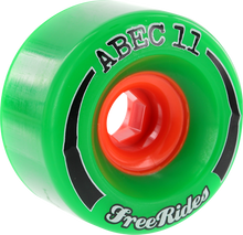 Abec 11 - Freeride 66mm 84a - (Set of Four) Skateboard Wheels