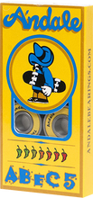 Andale - Abec - 5 Bearings Yellow - Skateboard Bearings