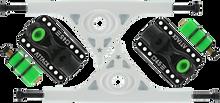 Attack Trucks - Black Star Rkp 180mm / 45?????? Wht / Blk - (Pair) Skateboard Trucks