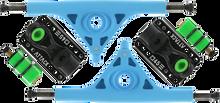 Attack Trucks - Black Star Rkp 180mm / 45?????? Blu / Blk - (Pair) Skateboard Trucks