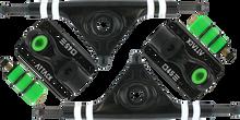 Attack Trucks - Black Star Rkp 180mm / 45?????? Blk / Blk - (Pair) Skateboard Trucks