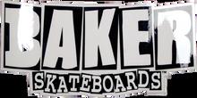 Baker - Brand Logo Sm Decal Single - Skateboard Decal