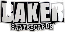 Baker - Brand Logo Md Decal Single Assorted Colors - Skateboard Decal
