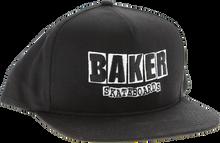 Baker - Brand Logo Hat Adj - Blk / Wht