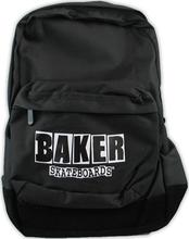 Baker - Brand Logo Backpack Black - Skateboard Backpack