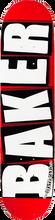 Baker - Brand Logo Mini Deck - 7.33 Red / White - Skateboard Deck