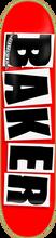 Baker - Brand Logo Deck - 8.47 Red / Black - Skateboard Deck