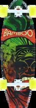 Bamboo Skateboards - Skate Battail Rasta Tiki Complete - 9.25x31.5 - Complete Skateboard