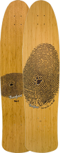 """Barfoot - Standard Flex2 38"""" Bamboo Deck - 9x38 Nat - Skateboard Deck"""
