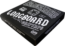 Black Magic - 40 / Box Die - Cut Squares 10x9 Grip Black - Skateboard Grip Tape