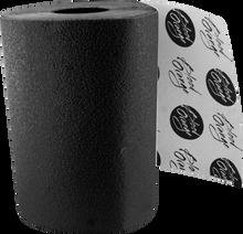 Blood Red Orange - Org X - Coarse Grip Roll - Black 11x60 - Skateboard Grip Tape