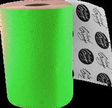 Blood Red Orange - Org X - Coarse Grip Roll - Neon Green 11x60 - Skateboard Grip Tape
