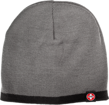 Bones Bearings - Swiss Tag Knit Beanie Charcoal / Black