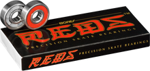Bones Bearings - Reds (single Set) Bearings - Skateboard Bearings