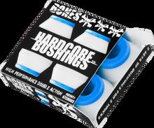 Bones Wheels - Hardcore 4pc Soft White / Blue Bushings - Skateboard Bushings