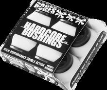 Bones Wheels - Hardcore 4pc Hard White / Black Bushings - Skateboard Bushings