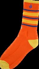 Bro Style - Style Big Stripe Crew Socks - Org 1 Pair