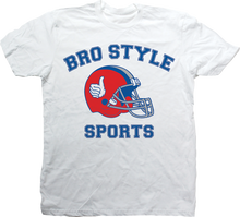 Bro Style - Style Sports Ss S - White - Skateboard Tshirt