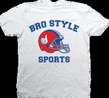 Bro Style - Style Sports Ss Xl - White - Skateboard Tshirt