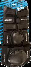 Bullet - Adult - Sm Combo Knee / Elbow / Wrist Blk Ppp - Skateboard Pads