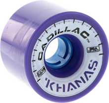Cadillac - Khana 66mm 86a Purple - (Set of Four) Skateboard Wheels