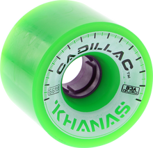Cadillac - Khana 66mm 83a Grn ur - (Set of Four) Skateboard Wheels